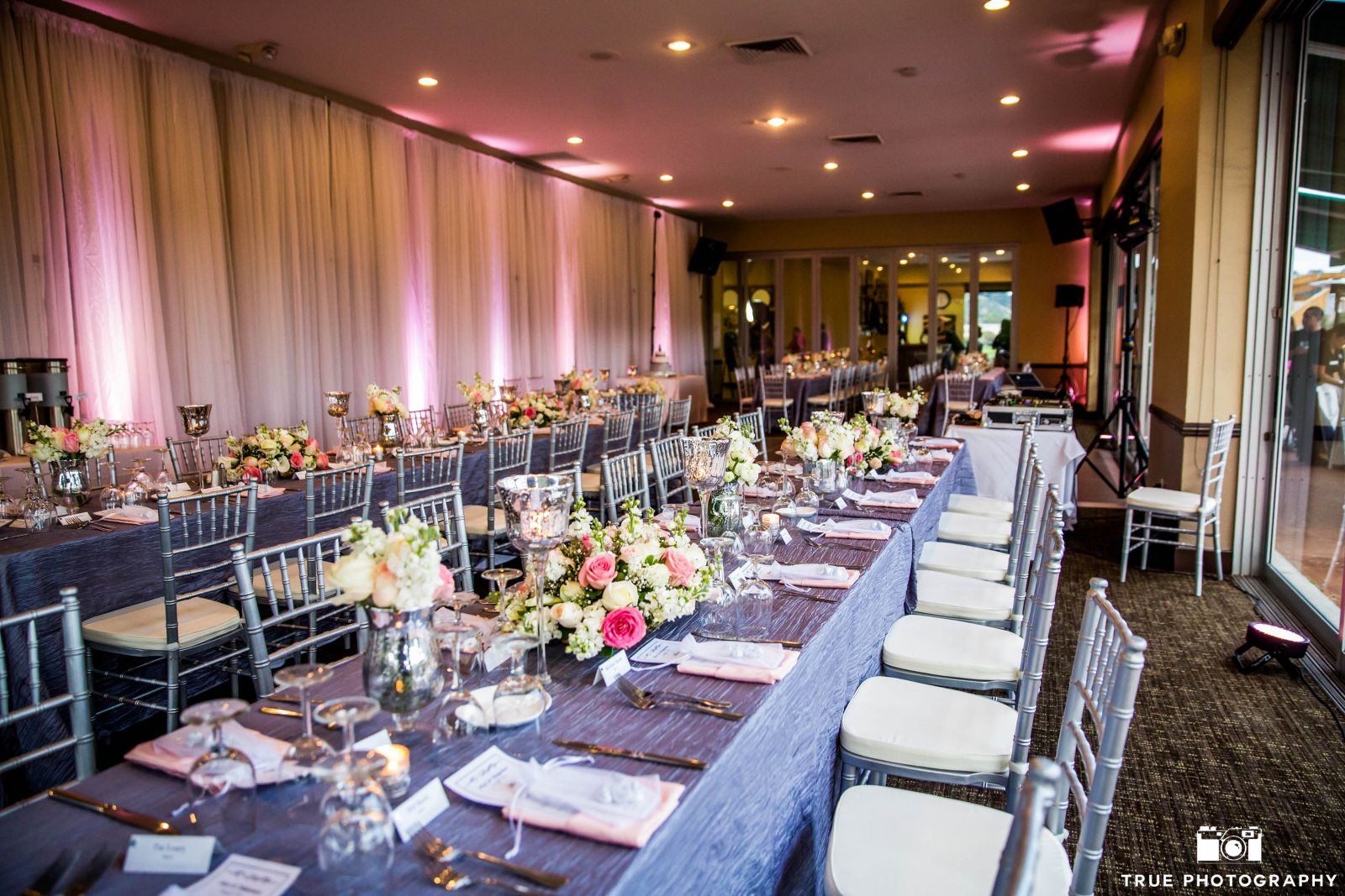 Our 7,000 square foot clubhouse has indoor and outdoor event space